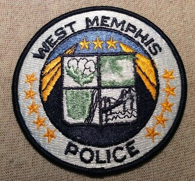 TN West Memphis Tennessee Police Patch
