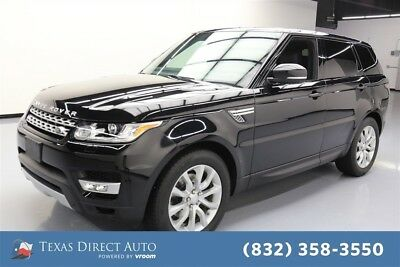 2015 Land Rover Range Rover Sport HSE Texas Direct Auto 2015 HSE Used 3L V6 24V Automatic 4WD SUV Moonroof Premium