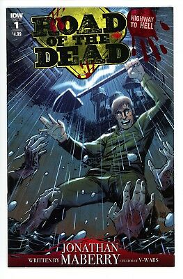 Road of the Dead  Highway to Hell     #1    * Variant *     Cover  B       NM