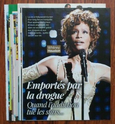 Whitney Houston - magazine articles clippings