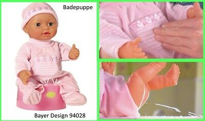Bayer Design 94028 - Bade-Baby - Puppe 40 cm