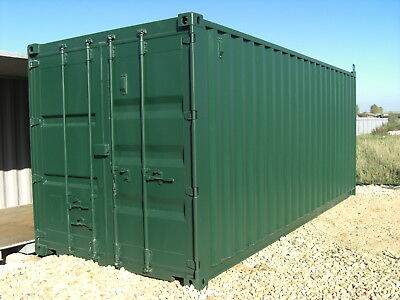 20ft  X 8ft. SHIPPING  CONTAINER.
