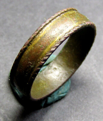 Ancient Bronze Ring. (A7). Big Size!