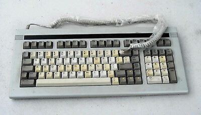 WYSE MECHANICAL ASCII Terminal Keyboard USED, For WY30, WY60 and others  w/cord