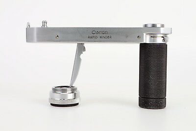- Canon Rapid Winder and Action Grip for 35mm Rangfinder Cameras