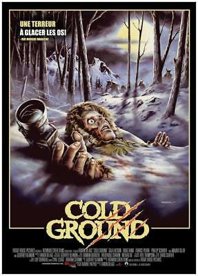 """COFFRET COLLECTOR 2 DVD NF """"COLD GROUND / THE LEGEND OF BOGGY CREEK"""" horreur"""