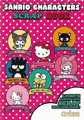 Sanrio characters scrap book Hello Kitty and friends