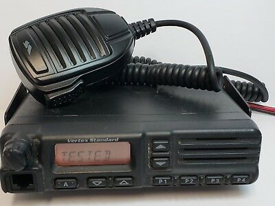 NEW VERTEX VX-2100 VHF 134-174MHZ 8CH 50W MOBILE FIRE EMS RACING FARM TAXI