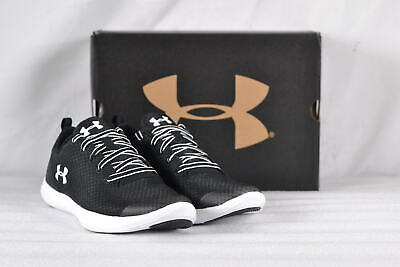Youth Boy's Under Armour Street Precision Sport Sneakers Black/White