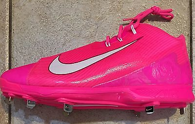 RARE Nike Air Swingman Legend Griffey Pink Baseball Cleats Mens Size 16