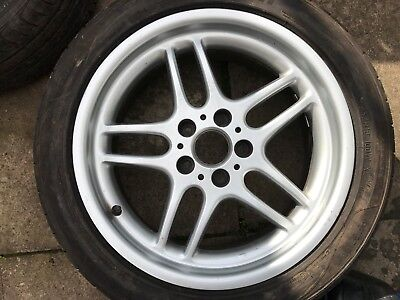 """Bmw 5 Series E39 18"""" Style 37 Parallel 8J Spare Alloy Wheel & Tyre Not Oem"""