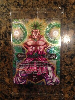 BROLY LEGEND'S DAWNING Dragon Ball Super Card Game Movie Promo P-068 LOT of 20
