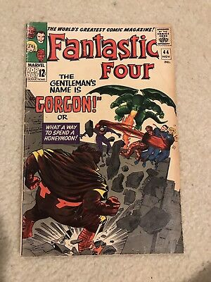 Marvel Comics - Fantastic Four # 44 / Silver Age.  First Gorgon appearance.