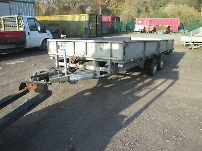 Ifor Williams Lm166 Twin Axle Drop Side Trailer