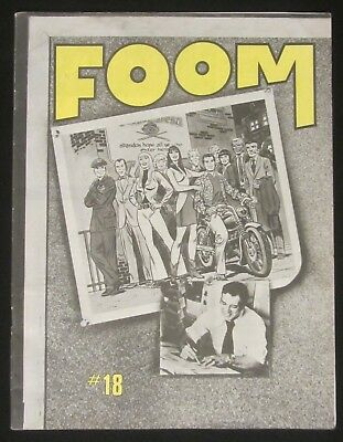 FOOM # 18 (1977) FN/VF..Gwen Stacy, Mary Jane Watson & Spiderman cover by Romita