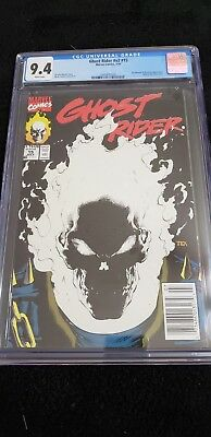 Ghost Rider #15 CCG 9.4 White Pages NR, Glow-in-the-Dark cover Direct Edition
