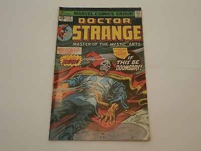 *AR* Dr Doctor Strange #12 Feb 1976 Final Curtain! Colan! The Aged Genghis F/VF