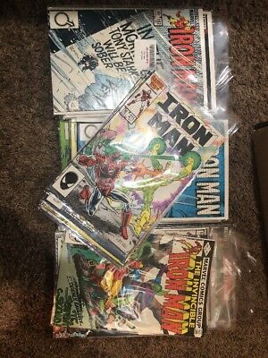Lot of 39 Vintage Marvel Iron Man Comic Books 1981-1987