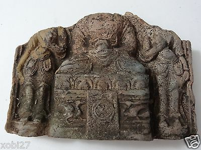 Antique Tibetan Buddhist Clay Tsa Tsa  Fragment