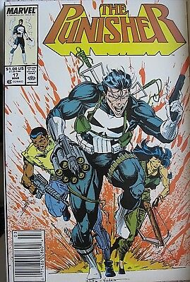 THE PUNISHER, Issue #17, (Marvel 1987) Never read