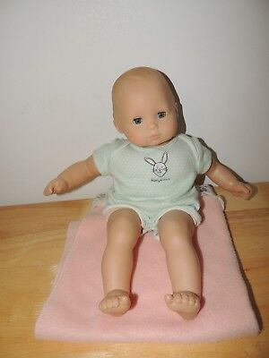 American Girl Bitty Baby Doll with Outfit Blonde Blue Eyes- Cute!