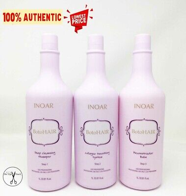 Inoar Professional - Botohair Kit - (3x) 1 Litre / 1000ml