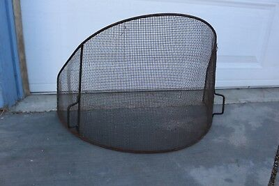 Vintage GRILL ONLY Swedish Cone Fireplace Mid Century Modern Atomic Malm Style