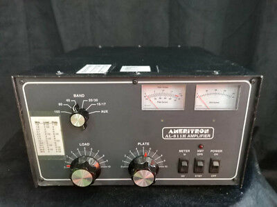 Ameritron AL-811h Ham Radio Amp Amplifier. Fully working. Four 811A tubes 2014.