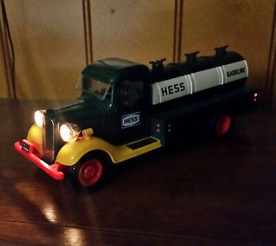 Vintage 1980s Hess Fuel Truck Working Condition