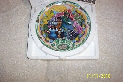 """The Wizard Of Oz """"The Merry Old Land of Oz"""" KnowlesMusical Plate New"""
