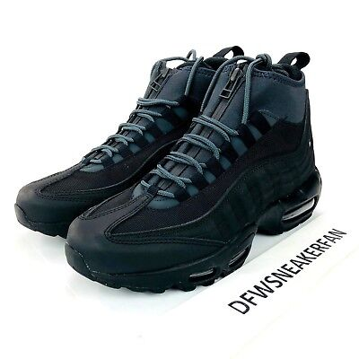 the latest 781ed 5f637 Nike Air Max 95 Sneakerboot Shoes Men s Size 8 Black Anthracite 806809 001  New