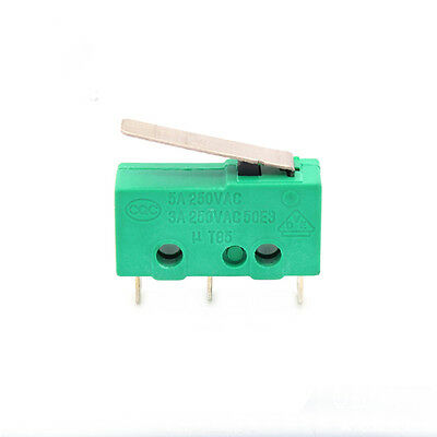 KW4-3Z-3 Hinge Roller Lever SPDT Momentary Micro Limit Switch 3D printer 2pcs