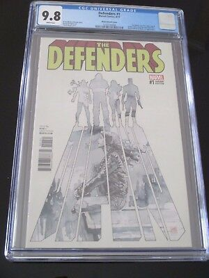DEFENDERS #1 David Mack Variant CGC 9.8 Diamondback & Black Cat appearance RARE