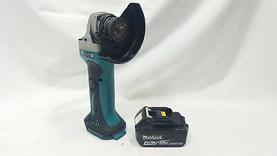 Makita 18V Cordless Grinder Dga452 Lxt + Makita 4.0 Ah Battery