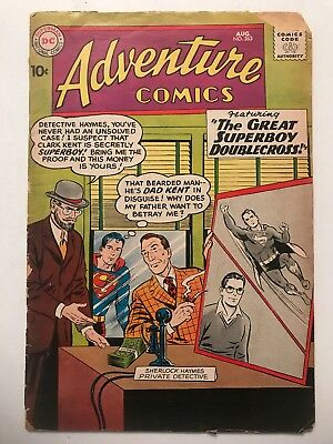 ADVENTURE COMICS #263, DC (1959) Low Grade, GD