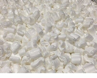 Packing Peanuts Anti Static Loose Fill 30 Gallons 4 Cubic Feet White