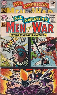 "Dc All American Men Of War #90,94 Apr/dec 1962  - ""target Destroyed---Maybe!"""
