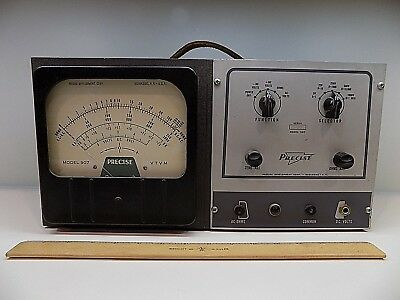 Precise Model 907 VTVM Vacuum Tube Multimeter