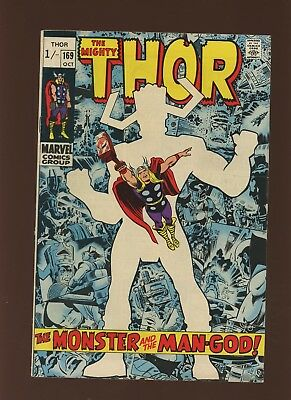 Thor 169 FN 6.0 [U.K. Edition] * 1 Book Lot * Marvel! 1969-71! Mystery! Space!