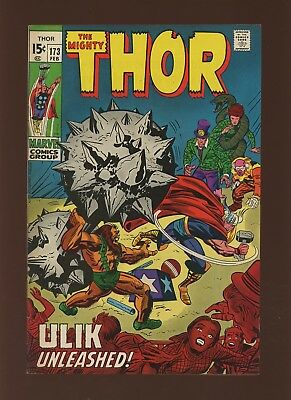 Thor 173 FN/VF 7.0 * 1 Book * Marvel! 1969-71! Mystery! Space! Ulik Unleashed!