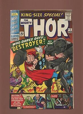 Thor King-Size 2 FN 5.5 [2nd Print]  * 1 Book * Marvel! 1st Wind Giants! 1966!