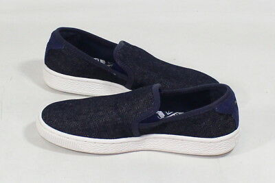 on sale 3be55 93f54 PUMA BASKET CLASSIC Slip on Denim Fashion Sneaker