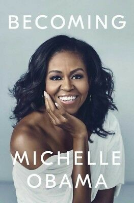 Signed Book Becoming Michelle Obama Autograph Barack