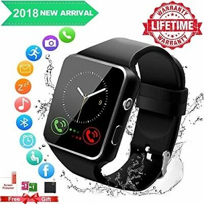 Smart Watch for Android Samsung iOS iPhone Phone Touchscreen Bluetooth Pedometer