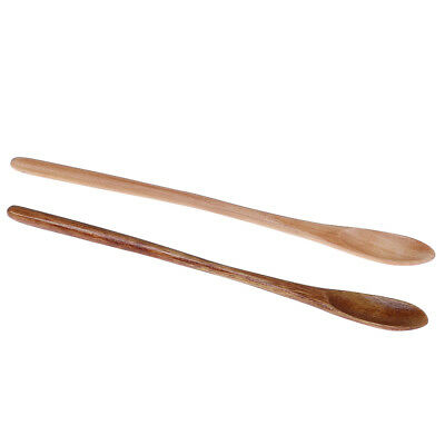 15.5cm Wooden Spoons For Cooking Honey Spoon Server Tea Coffee Stirring Spoon JC
