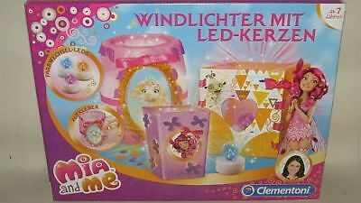 Clementoni 69345 Mia and Me Windlichter mit LED Kerze NEU