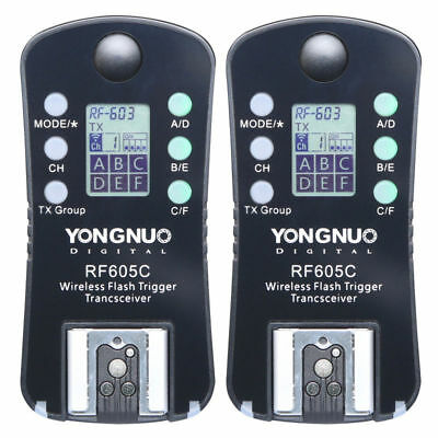 Yongnuo RF605 C Wireless Flash Trigger for YN660 YN560 IV YN560 III RF603II C
