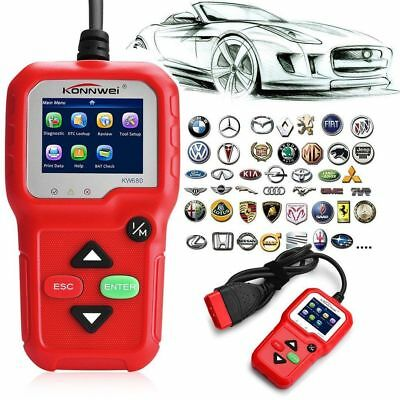 KW680 OBDII OBD2 EOBD Car Code Reader Vehicle Diagnostic Scan Tool Scanner RTIU