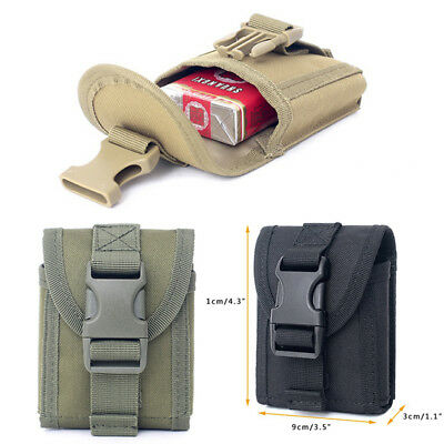 Sports Easy Carrying License Mag Molle EDC Pouch Waist Pack Bag Organizer