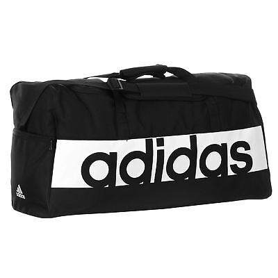 how to buy good out x preview of ADIDAS LINEAR PERFORMANCE Duffel Bag Large Black/White ...